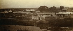 Chine Shanhaiguan Casernement Anglais ancienne Photo 1906