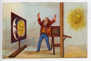 France Saint Omer Chromo Publicitaire Photographe Charles Becquereau 1890