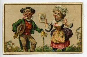 France Lille Watrelot Delespaul Chromo Publicitaire Photographe 1890