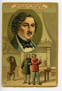 France Chocolat Poulain Chromo Publicitaire Daguerre Photographe 1890