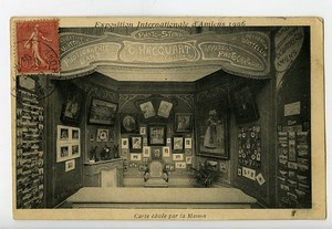 Amiens Expo Internationale Carte Postale Photographe Hacquart Decoration Wattelin 1906