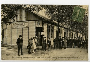 France Lille Exposition Internationale Carte Postale Photographe Maurice Le Deley 1920