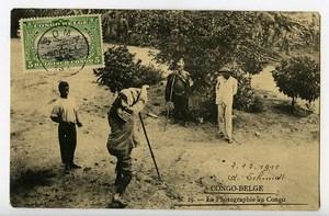 La Photographie au Congo Belge Carte Postale Photographe 1911 Lukula Boma