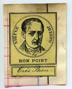 France Bon Point School Gold star Joseph Nicephore Niepce 1880