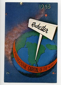 USA Rochester Label Photographic Capital of the World 1953