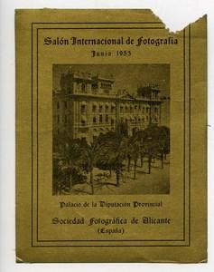 Spain Alicante Label International Photo Exhibition 1953