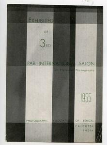 India Calcutta Kolkata Label 3rd International Pictorial Photo Exhibition 1955