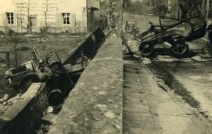 France Mémoires d'une Dépanneuse Accident de Voiture Camion? Ancienne Photo 1935
