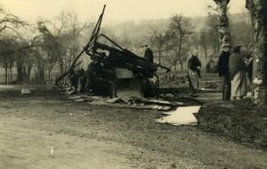 France Mémoires d'une Dépanneuse Accident de Camion? Ancienne Photo 1935