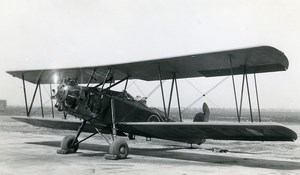 USA Aviation Curtis Fledgeling Challenger Airplane Old Photo 1930's