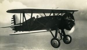 USA Aviation Boieng P 12E Wasp SR1340E Engine Airplane Old Photo 1940
