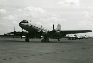 Handley Page HP67 Hastings C1 RAF Transport Command Aviation Old Photo 1960's