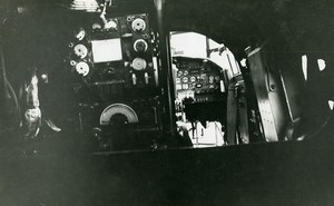 United Kingdom Aviation Avro 694 Lincoln Cockpit Airplane Old Photo 1949