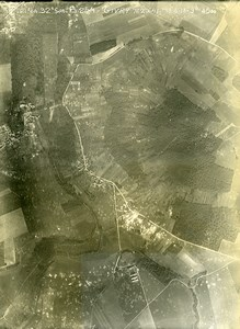 France WWI Givry Chateau Thierry Battle Old Aerial Photo June 18 1918
