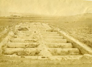 Tunisia Tunis Carthage Antique Water Tanks Old Photo 1890
