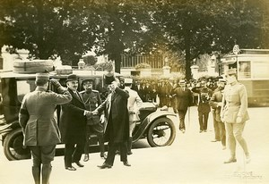 Paris Grand Palais Montenegro King Visit WWI Photo Identite Judiciaire 1916