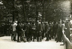 Paris Tuileries French Serbian Festival WWI Old Photo Identite Judiciaire 1916