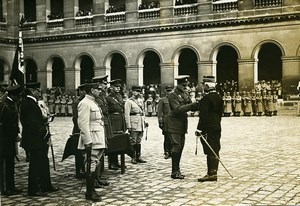 General Balfourier Duke of Connaught Paris WWI Photo Identite Judiciaire 1916