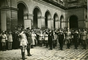 General Dubail Duke of Connaught Paris WWI Old Photo Identite Judiciaire 1916