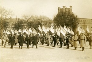 Paris Military Preparedness Parade WWI Poincare Photo Identite Judiciaire 1917