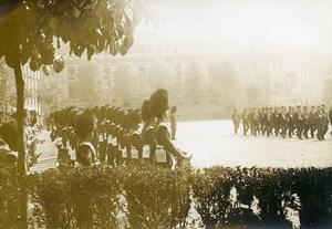 Paris Caserne des Celestins English Military Band Photo Identite Judiciaire 1917