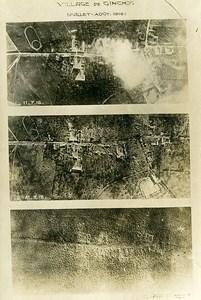 France Ginchy apres les attaques de Juillet Première Guerre Mondiale ancienne Photo Aerienne 1916