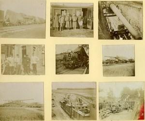 France Vie Quotidienne du Soldat pres du Front Première Guerre Mondiale 9 anciennes Photos 1917