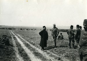 France Marne Vouzy Moroccan Division Day General Joffre WWI Old Photo 1914