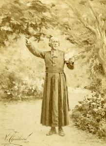 France Victor Chevillard Album 25 photographs Nos Bons Curés 1880'