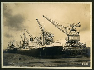 Dunkerque Album 21 Photographs of German Engineering Crane MAN Nuremberg 1931