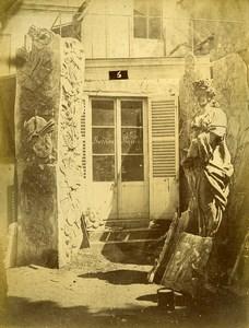 France Paris Bercy Castle Rouyer Sculptures Portfolio 27 Photos Durandelle 1870