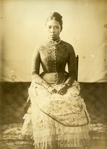 Madagascar Princesse Ramasindraho Ancienne Photo Ramahandry 1910'