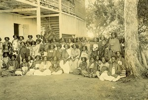 Madagascar Tananarive Queen Binao Entourage Sakalava Photo Ramahandry 1910'