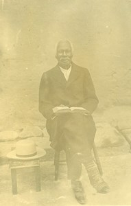 Madagascar Pastor Rainimanga Rahanamy Old Photo Ramahandry 1910'