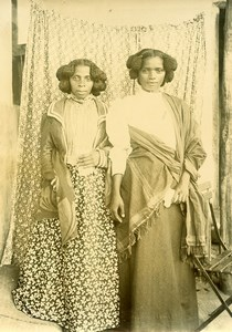 Madagascar Sakalava Women of Manjunga Old Photo Ramahandry 1910'