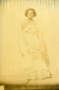 Madagascar Sakalava Woman Antankarana Old Photo Ramahandry 1910'