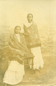 Madagascar Hovas Women Old Photo Ramahandry 1910'