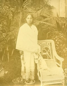 Madagascar Femme Hova deTananarive Ancienne Photo Ramahandry 1910'