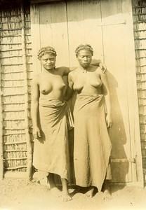 Madagascar Femmes Ethnie Mahafaly Ancienne Photo Ramahandry 1910'