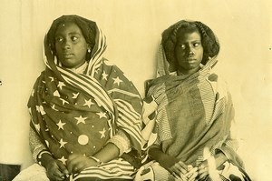 Madagascar Femmes de Sainte Marienne Ancienne Photo Ramahandry 1910'