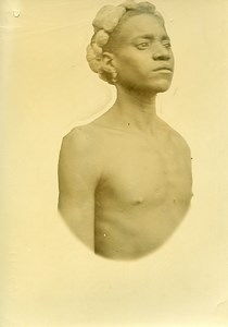 Madagascar Homme de l'Ethnie Bara Ancienne Photo Ramahandry 1910'