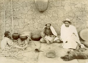 Madagascar Mpanandro Sorcier Ancienne Photo Ramahandry 1910'