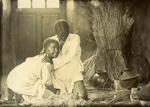 Madagascar Accouchement malgache Ancienne Photo Ramahandry 1910'