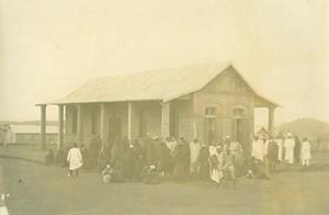 Madagascar Leproserie à Manankavaly Lépreux Lepre Ancienne Photo Ramahandry 1910'