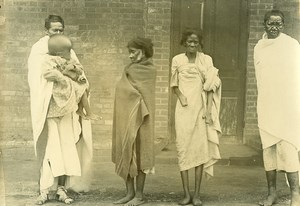 Madagascar Leprosarium at Manakavaly Old Photo Ramahandry 1910'