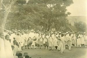 Madagascar Danseurs lépreux à Manankavaly Ancienne Photo Ramahandry 1910'