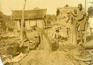 Madagascar Forgerons malgaches Ancienne Photo Ramahandry 1910'