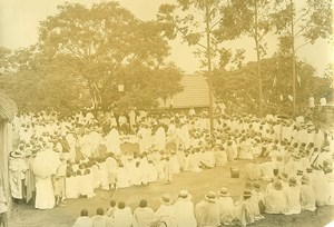 Madagascar Danseurs Malgaches Ancienne Photo Ramahandry 1910'