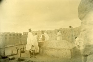 Madagascar Culte des Ancêtres Andriambodilova Ancienne Photo Ramahandry 1910'