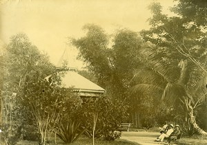 Madagascar Tamatave Kiosque de la Place du marché Ancienne Photo Ramahandry 1910'
